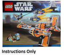 FREE SHIPPING! LEGO Star Wars Set #9493 Set of all 4 Minifigs /& Manual ONLY