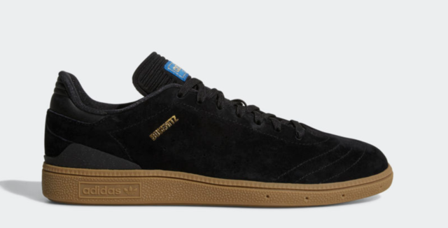 san francisco 3b478 fa9e8 NEW adidas Originals BUSENITZ RX SHOES CQ1161 Black Gold Brown Gum Skate s1
