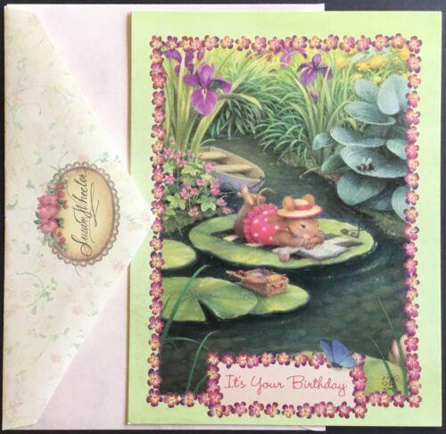 "New w//Envelope Susan Wheeler Greeting Card 5 X 7"" Birthday #4 Adorable"