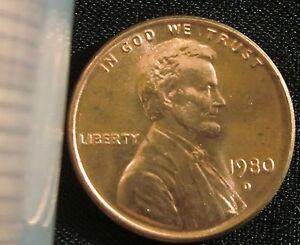 Details about 1980-D Denver Mint Lincoln Memorial Penny