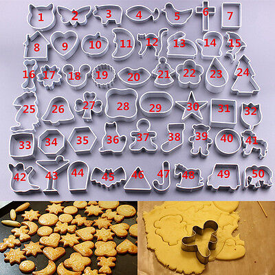 Home Kitchen Bar DIY Cute Cake Biscuit Decorating Mold Pastry Baking Mould Tools