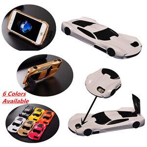 online store 24b13 b5a72 Details about New 3D Race Lamborghini Car Kickstand Back Cover Case For  Apple iPhone 7 6s plus