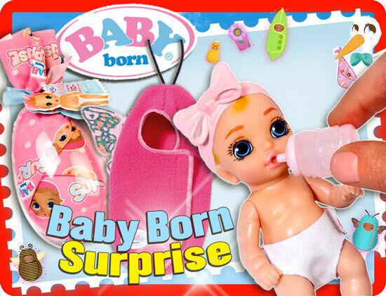 Zapf BABY Born Surprise Auwahl aus allen 12 Dolln Aussuchen oder Komplett 2019