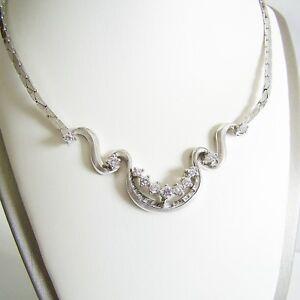 Collier-Gold-585er-Brillanten-Goldcollier-14-kt-Halskette-Goldschmuck-Damen