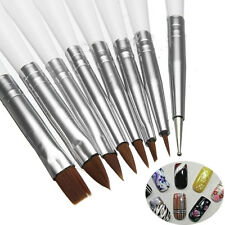 8pcs Magic DIY Nail Art Brush Tool Dotting Painting Pen Drawing Design Liner