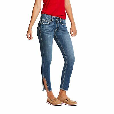 Ariat® Ladies R.E.A.L Mid Rise Jasmine Stretch Boot Cut Jeans 10026023