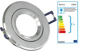 Halogen /& LED-Strahler 230V Einbaustrahler Balu K5402 ohne Leuchtmittel f 12V