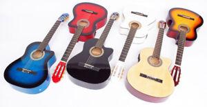 4-4-Klassik-Gitarre-mit-Tonabnehmer-und-4-Band-EQ-6-Farben
