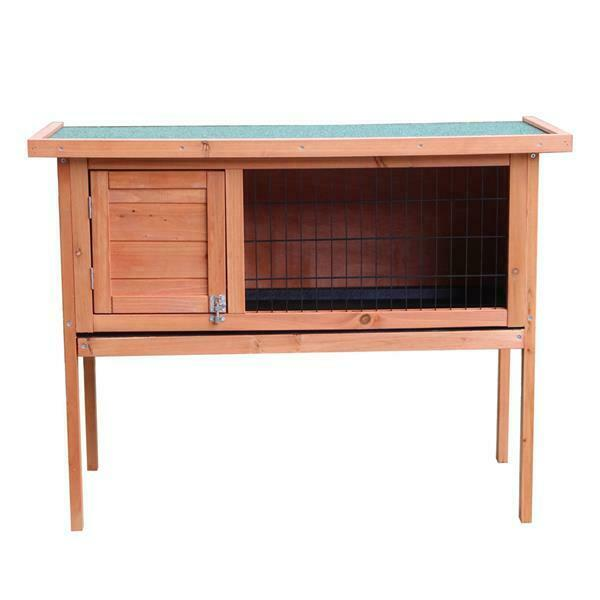 Purlove Pet Rabbit Hutch Wooden House Chicken Coop For Small Animals For Sale Online Ebay