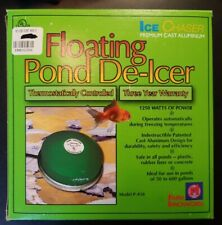 1,250-Watt Pack of 2 Farm Innovators Model P-418 Premium Cast Aluminum Floating Pond De-Icer