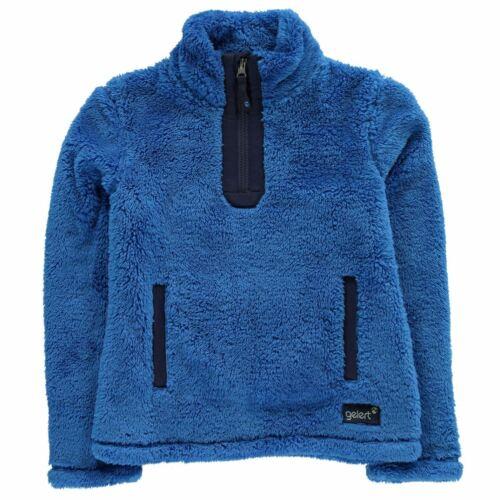 Gelert Girls Yukon Micro Fleece Junior 1//4 Zip Long Sleeve Top Pullover Kids