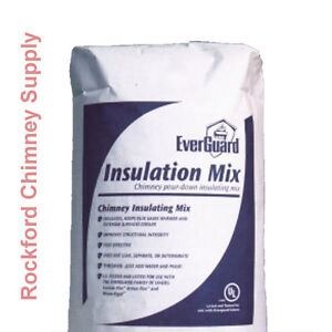 Chimney Insulation Mix Everguard Pour Down Chimney Liner
