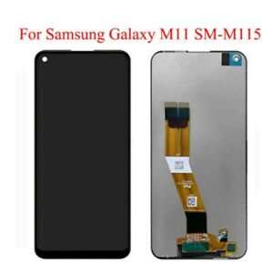 For Samsung Galaxy M11 2020 SM-M115 LCD Screen Touch Digitizer Glass Part Black*