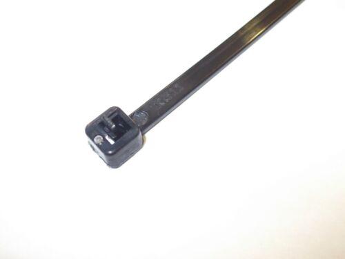Auto bloqueo lazos. 14 Pulgadas x 3//16 pulgadas reutilizable Bridas Negro adecuado para su publicación