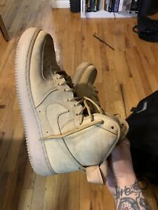 Details about Nike Air Force 1 Wheat Flax Size 11 Suede