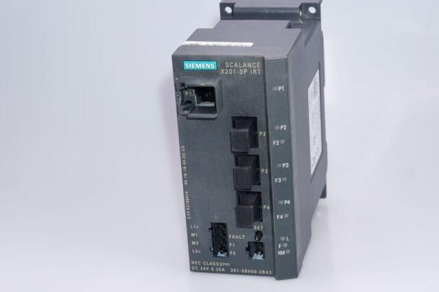 SIEMENS SCALANCE X201-3P IRT  6GK 5201-3BH00-2BA3 NET Industr. Ethernet Switch