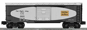 2010 discontinued  K-line Lionel 6-22640 Central of Georgia Boxcar new in thebox