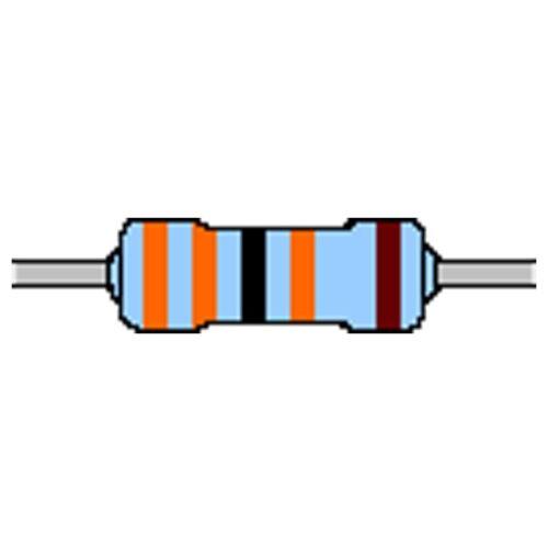 Metallschicht-Widerstand 300 kOhm 1/% 0,6W Bauform 0207 gegurtet