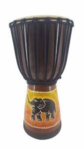 70cm 60cm 50cm 40cm Profi Djembe Trommel Drum Bongo Elefant mit oder ohne Tasche