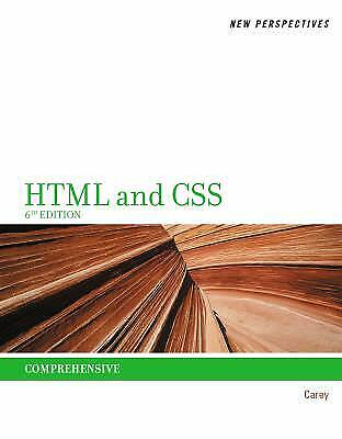 HTML and CSS : Comprehensive by Patrick M. Carey