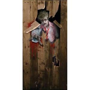 Effrayant-Zombie-Homme-Halloween-Accessoire-Fete-Porte-Housse-Affiche-Deco-6