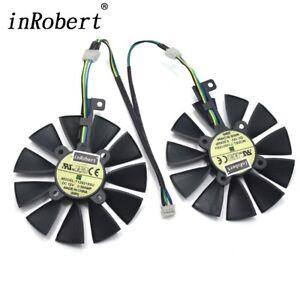 Details about Cooler Fan For ASUS Strix GTX 1050 1060 1070 1080 GTX 970 RX  480 88MM T129215SU