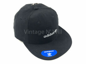 Image is loading Adidas-Originals-Relaxed-Black-Faux-Suede-White-Trefoil- 30c088c74fa