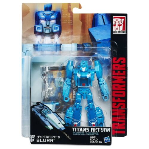 Transformers Generations Titans Return W1 Deluxe Class Hyperfire /& Blurr