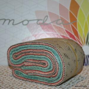 Moda-Scrap-Bag-Le-Pavot-by-Sandy-Gervais-100-cotton-quilt-fabric-strips