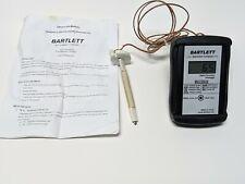 Bartlett Kiln Pyrometer Temperature Recorder Data Logger