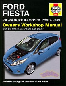 fiesta shop manual ford service repair book haynes chilton 2009 2010 rh ebay com manuel radio ford fiesta 2010 manual ford fiesta 2010 pdf