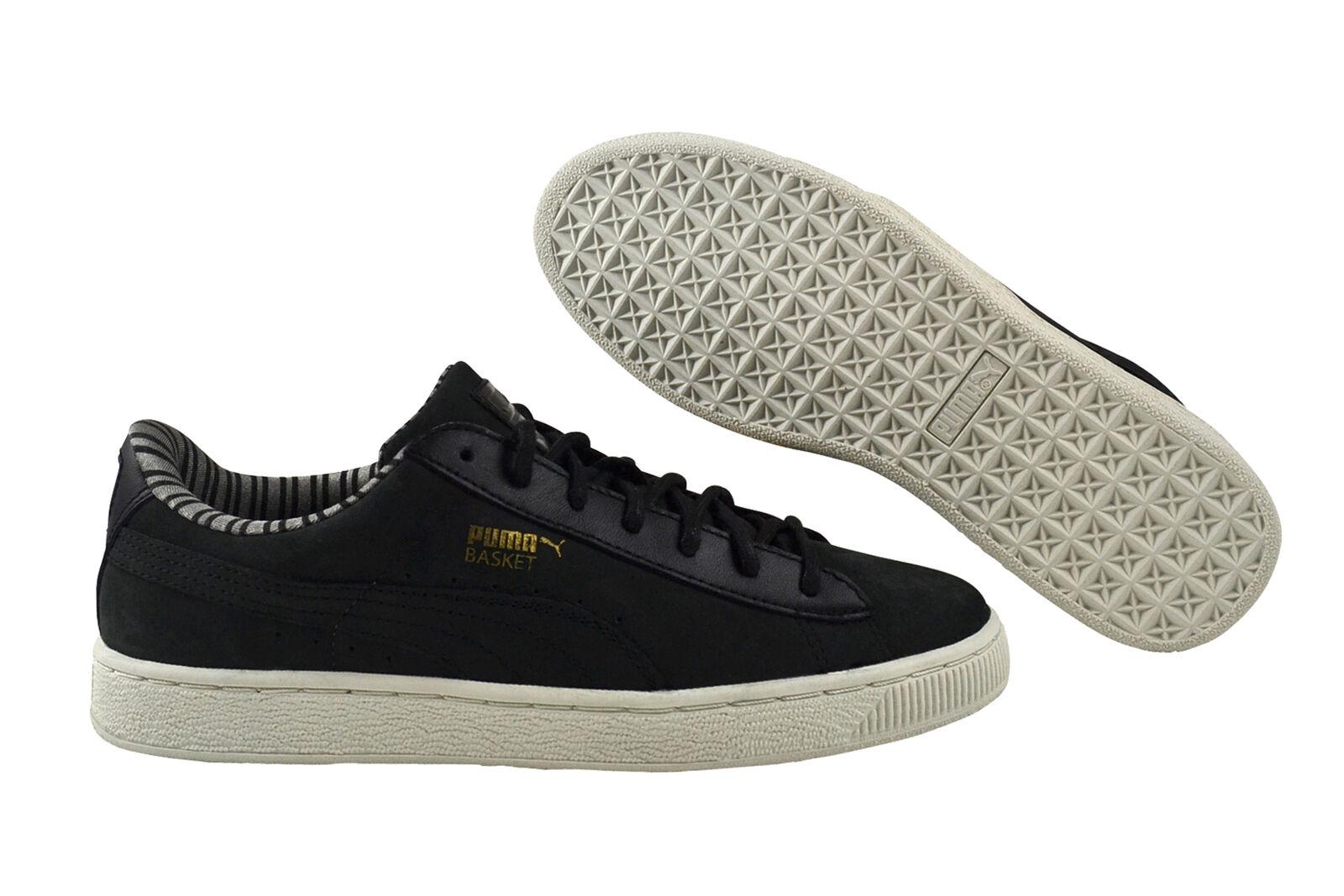 Venta de liquidación de temporada Puma Basket Classic citi Black cortos zapatos negro 359938 01