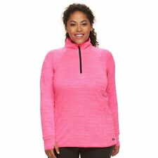 fila quarter zip womens. nwt women\u0027s size l fila sport® reflective dot quarter-zip running jacket fila quarter zip womens w