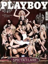 Playboy 1/2009 Januar 2009 Salon Spectaculaire Playmates 2008 & Jennifer Hentsch