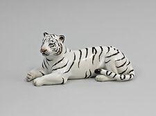 Porzellan Figur Weißer Tiger liegend Kämmer 9944010