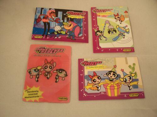 The POWER PUFF GIRLS Promo card Set  Series 2