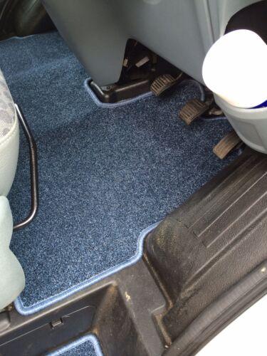Ford Transit Mk7 2007-2014 autocaravana Bespoke Cab Mat Negro O Azul en Rhd o Lhd