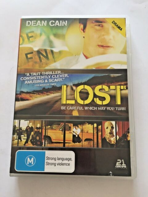 Lost (DVD, 2007) Dean Cain - Be Careful Which Way You Turn - Free Post!