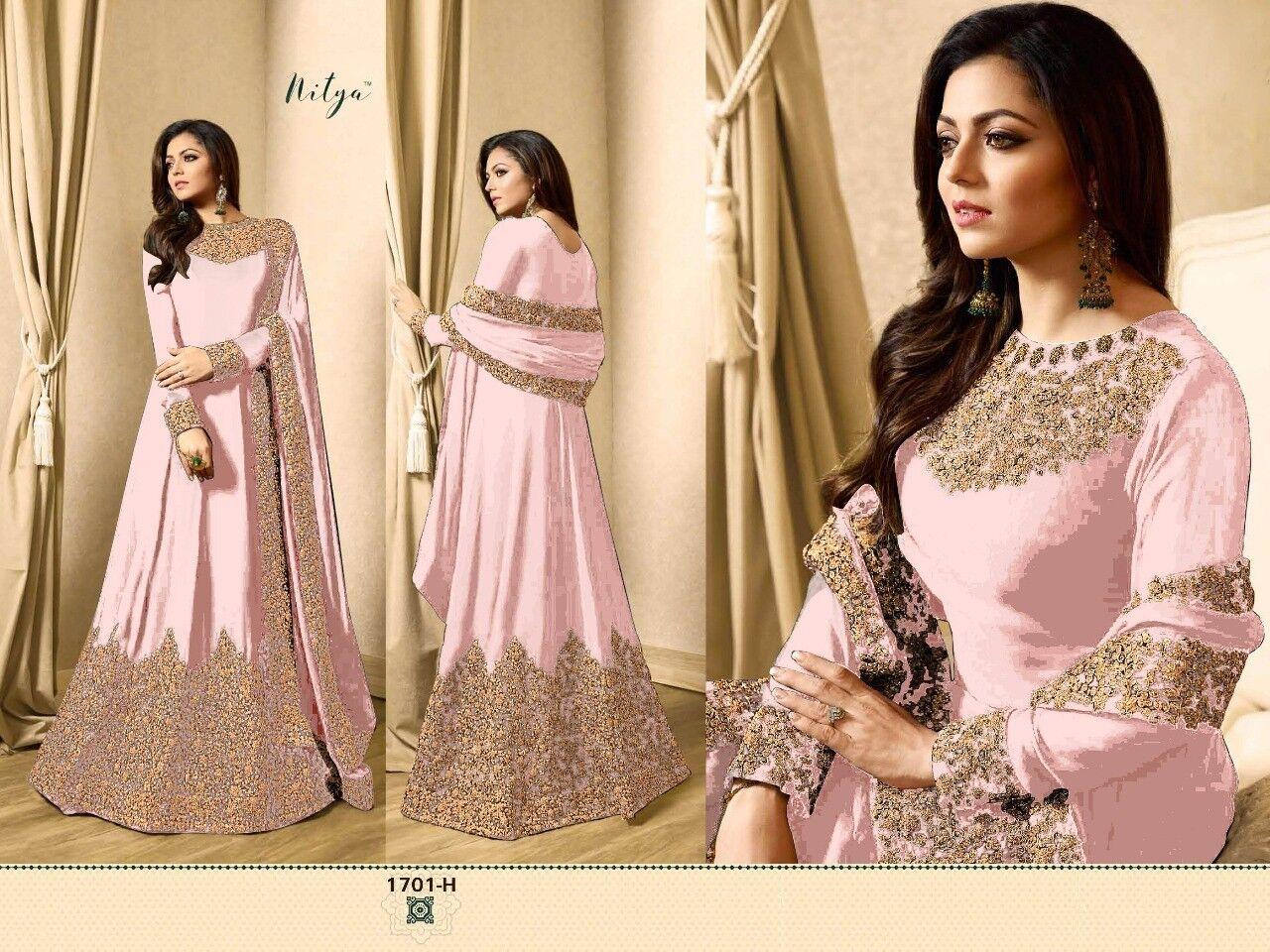New Indian Designer Pakistani Anarkali Shalwar Suit Dress wedding Salwar Kameez