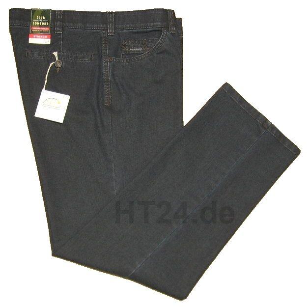 Club of Comfort Stretch Jeans Liam 4631 tg. 24-32, 48-60 BLU NERO