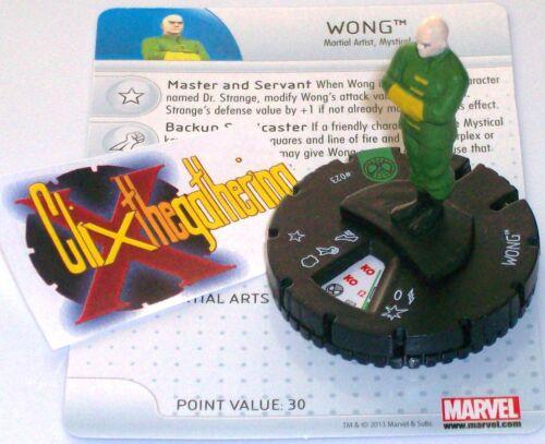 WONG #023 Amazing Spider-Man Marvel Heroclix