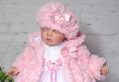 Weiss oder Rosa ♥ ♥ Fellmütze Mütze