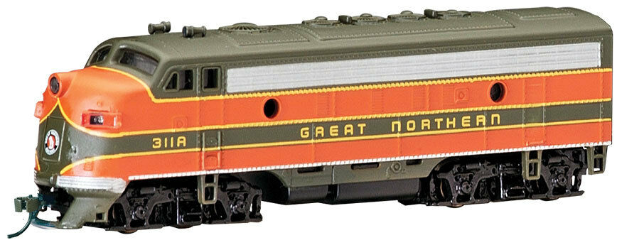 Escala N - bachmann Locomotora Diésel F7A Great Northern con DCC-63752 Neu