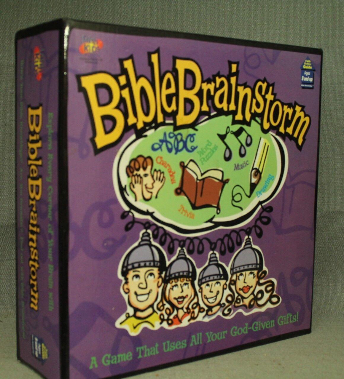 Bibel Brainstorm Spiel Trivia Charades Musik Zeichnung Word Puzzles