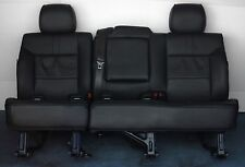 2009 2008 Hummer H2 2nd Row Split Bench Seat in Black Leather