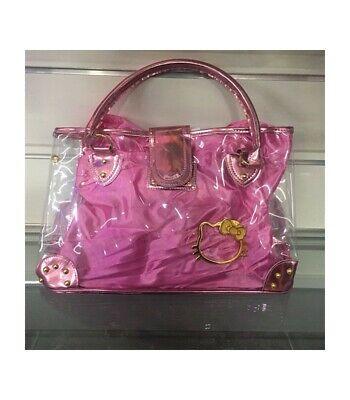 Ambizioso Borsa Shopping Hello Kitty Colore Rosa Bello A Colori