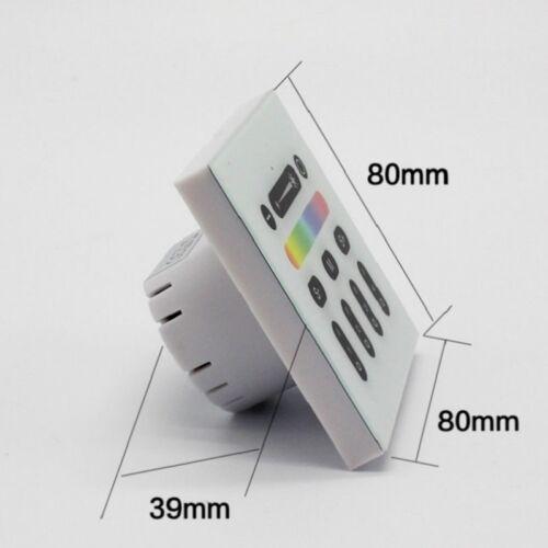 Mi-light LED WiFi Touch Panel 4 zona RGB RGBW strip controlador Wireless 2.4 GHz