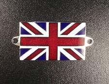 Badge - plaque with Union Jack (screw on) enamel size