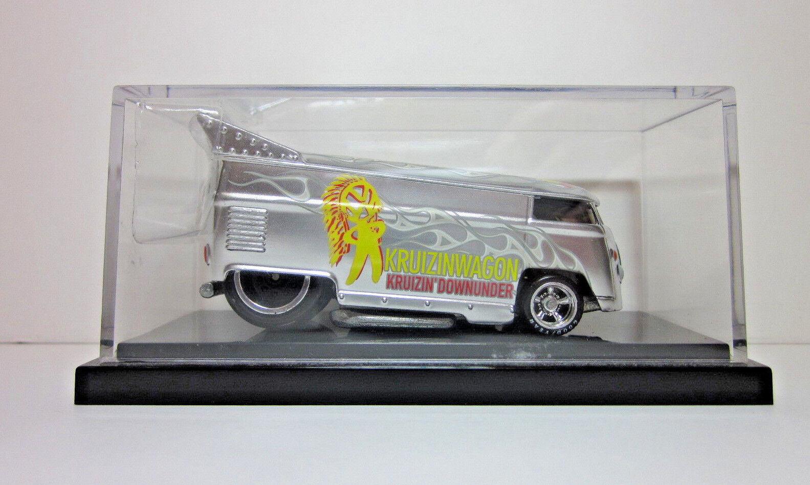 HOT WHEELS LIBERTY PROMOTIONS - Silber KRUIZINWAGON VW DRAG BUS - 165 of 1000