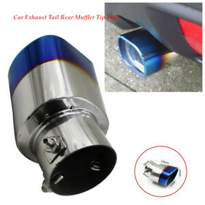 STAINLESS STEEL EXHAUST TAIL REAR MUFFLER TIP PIPE